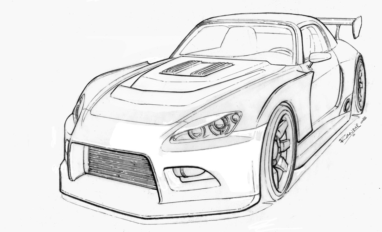 s2000 widebody sketch