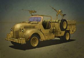 General Vehicle Ford SOF Truck Colour Tweak by tincap