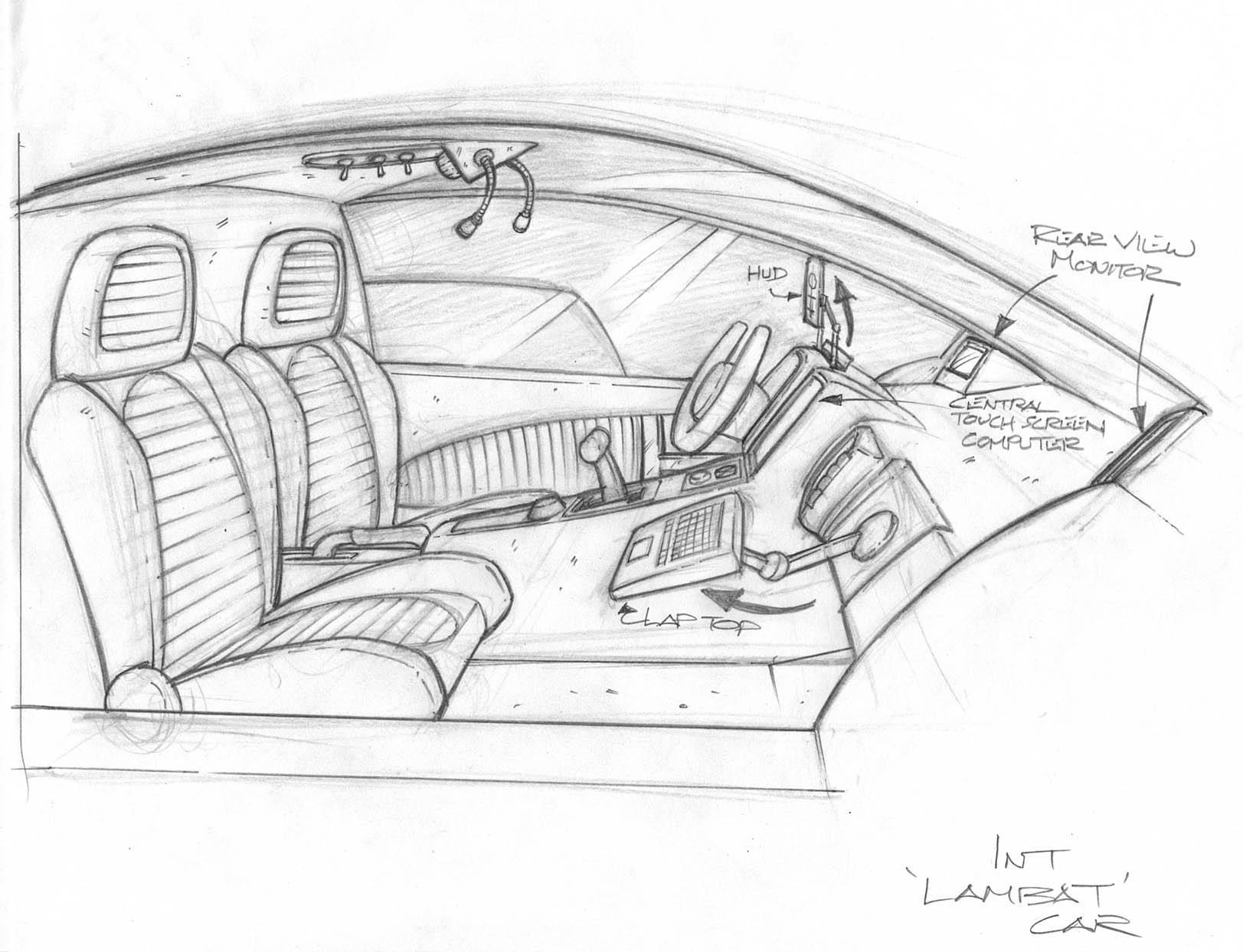 Lambat Car Interior Layout By Tincap On Deviantart