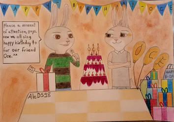 OCE BIRTHDAY  by AleDS98