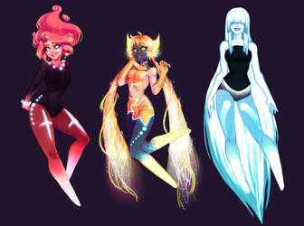 space ocs by Ron-nie