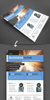MODERN BUSINESS FLYER A4
