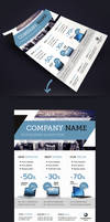 Corporate Business Flyer Template A4