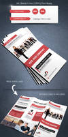 Modern and Corporate Trifold Brochure Template
