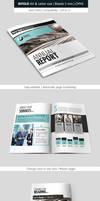 Corporate Indesign Bifold Brochure Template
