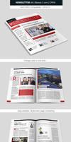Creative Indesign Newsletter Template Design