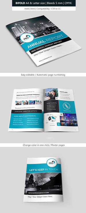 Business Brochure Template Bifold