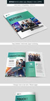Bifold Business and Corporate Brochure Indesign