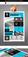 Corporate and Business Commerce Flyer Template