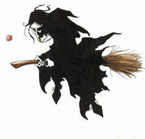 Snape Refs the Quidditch Match by chicxulub