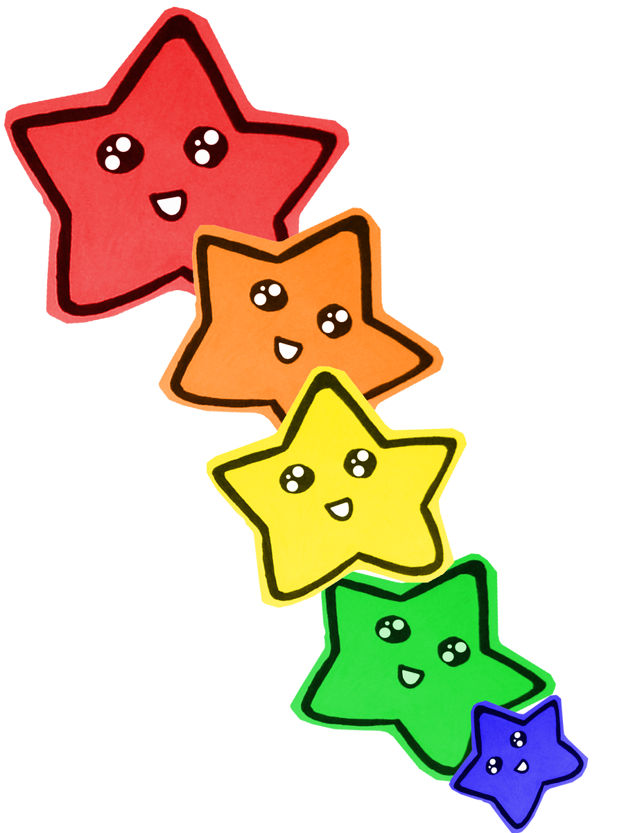 Joyeux Anniversaire Sylice..  Rainbow_of_stars_by_shandab3ar-d332h06