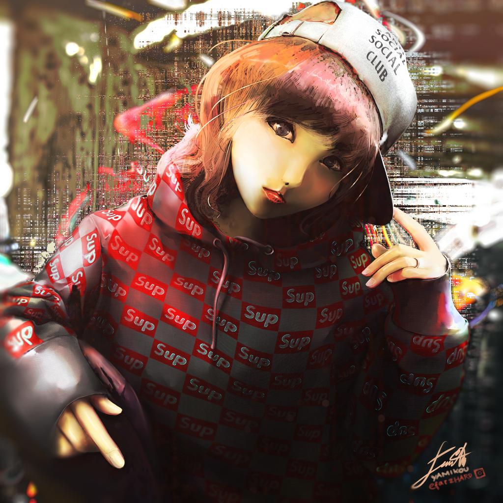 ASSC x Supreme (Hypebeast Series) by Yamikou