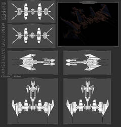 Minmatar Battleship - Ripper