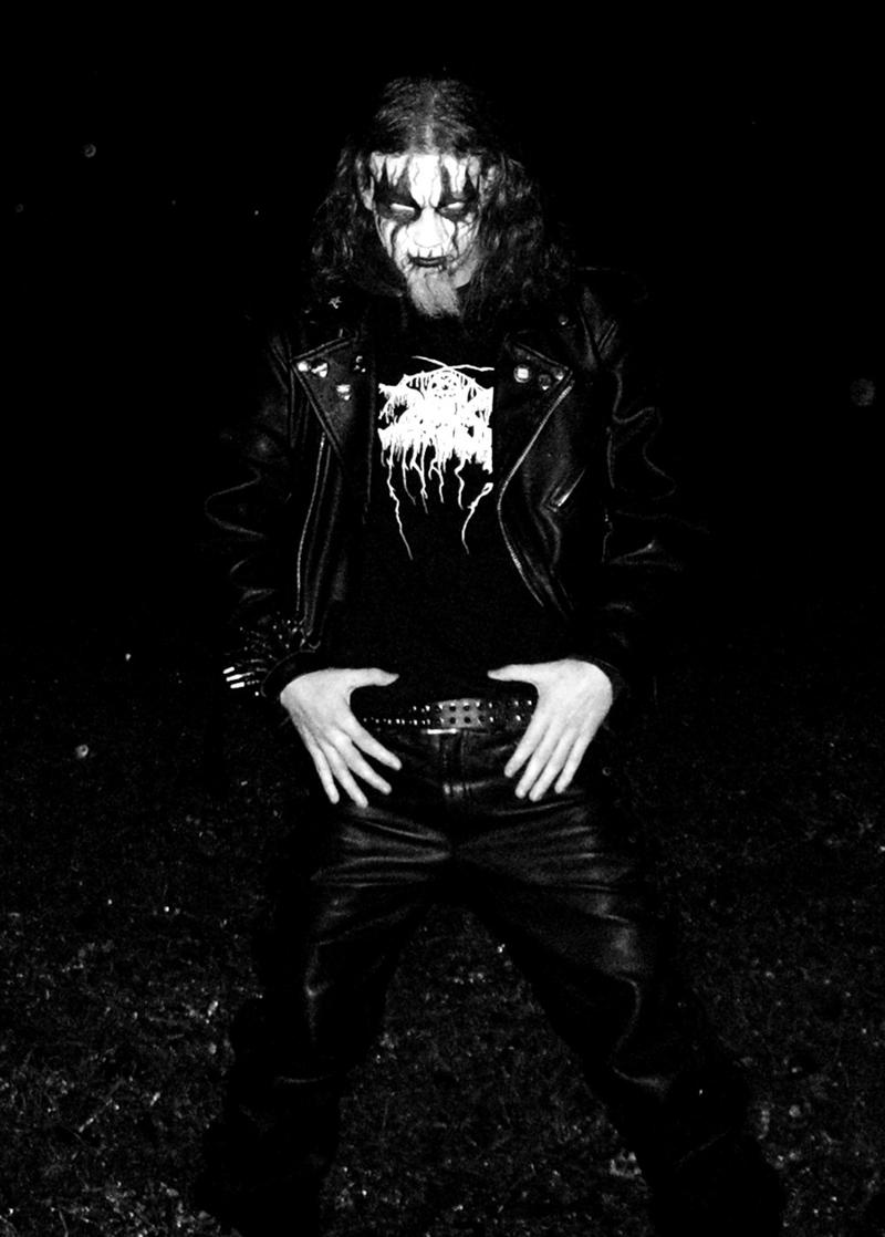 Black Metal Corpse Paint Mask