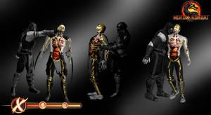 X-Ray Skeletons Pack 1 - Mortal Kombat 9