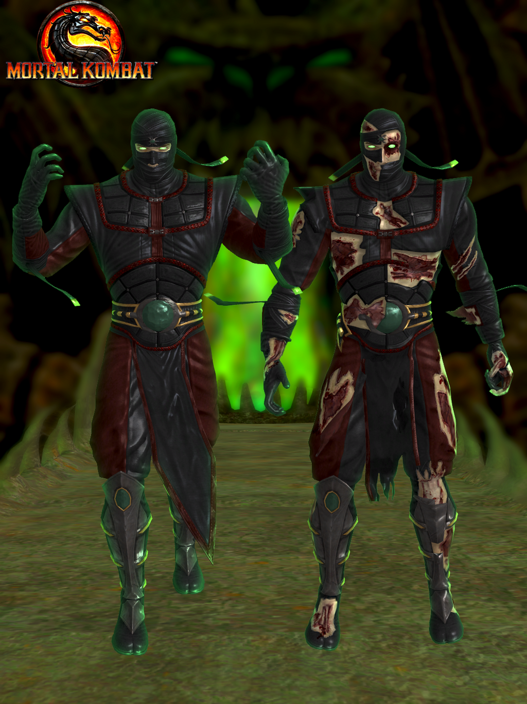 ... Ermac - Mortal Kombat 9 by romero1718