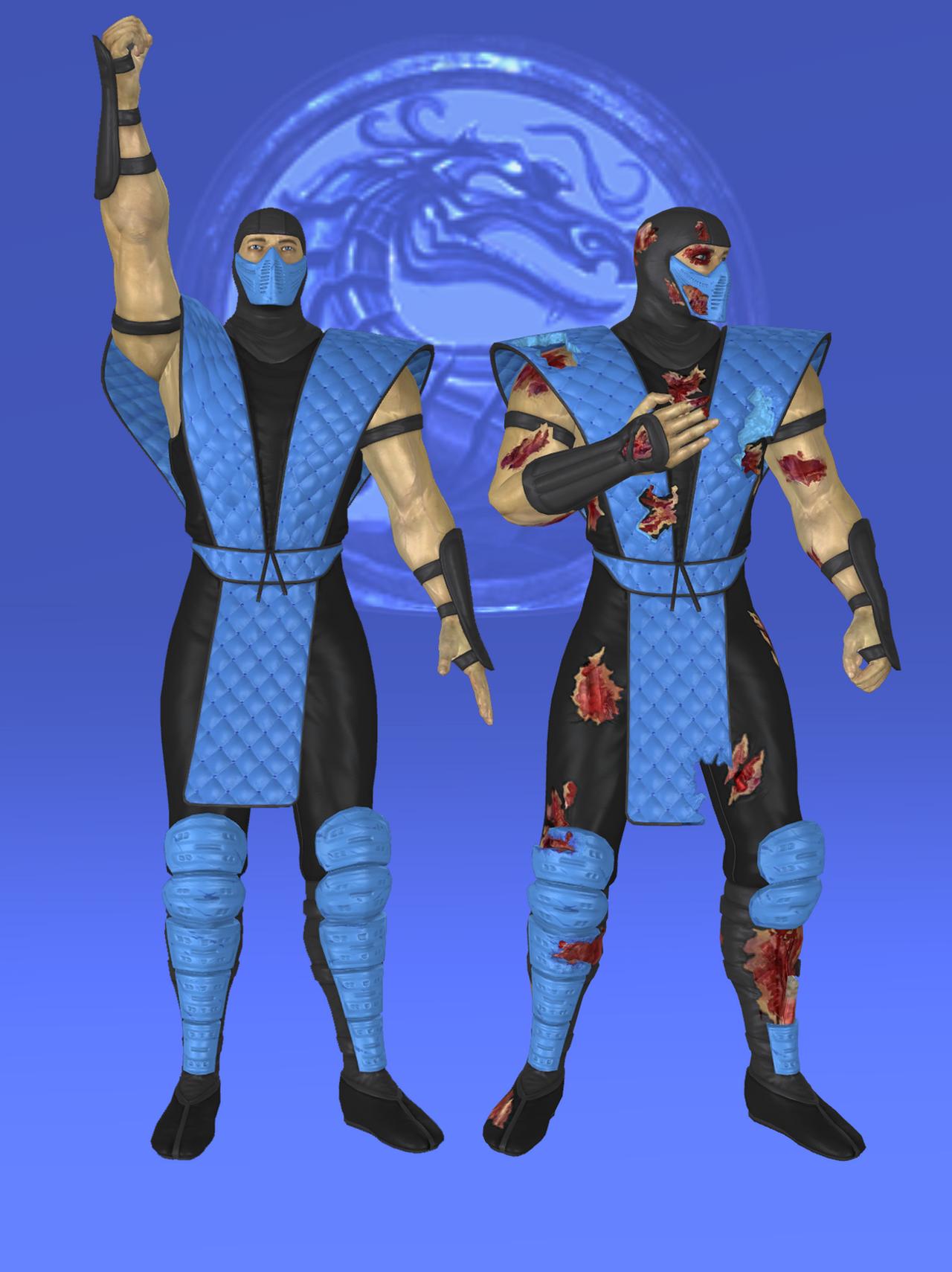 Sub-Zero Klassic MK2 - Mortal Kombat 9 by romero1718 on ...