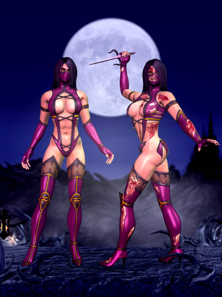 Mileena Primary Mortal Kombat 9 By Romero1718 On Deviantart