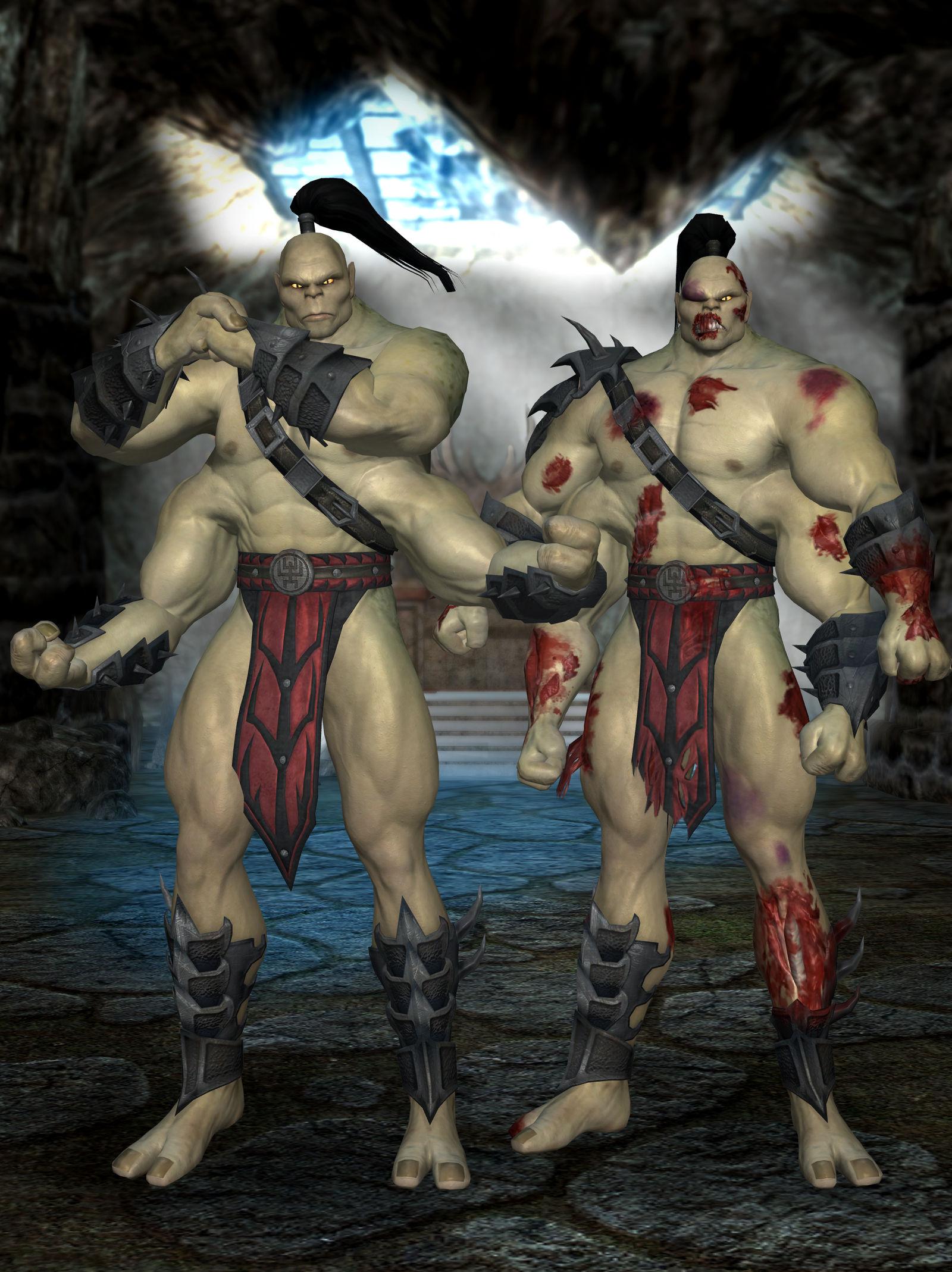 Goro - Mortal Kombat 9 by romero1718 on DeviantArt