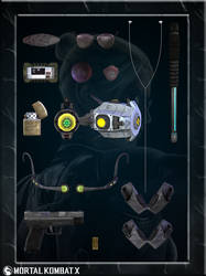 Cassie Cage Accessories by romero1718