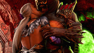 Sindel x Shao Kahn   Making Up For Lost Time