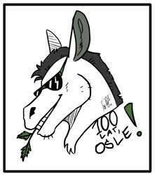 Osiolek Birthday Gift by Botteled-Wolf