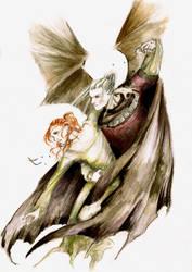 Witcher- demon by Nonko