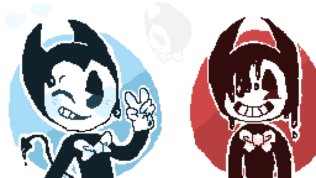 how to draw bendy& 39