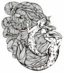 Water nymph by MikaFrostwolf