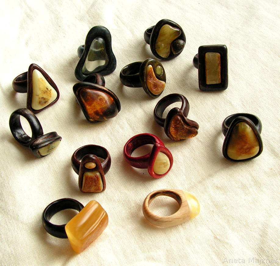 Wooden Craft Rings Joans