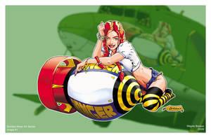 Nose Art Series 1: Farmgirl by WBreaux