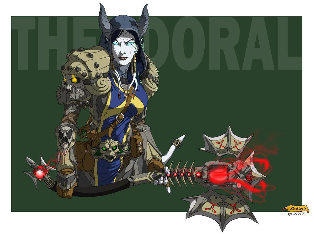 Warcraft Death Knight - Thendoral