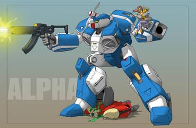 Robotech Alpha Fighter 2020