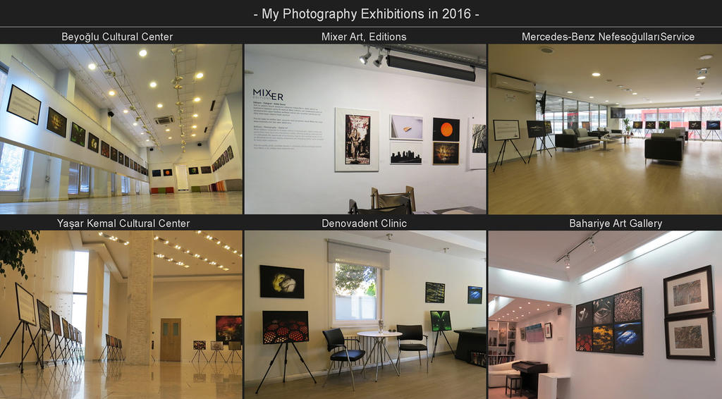 Exhibitions in 2016 by Resifdesign