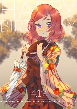 Happy birthday, Maki!
