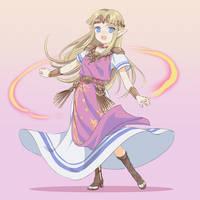 Zelda by klaeia