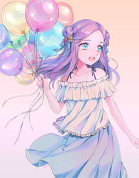Birthday Girl by klaeia