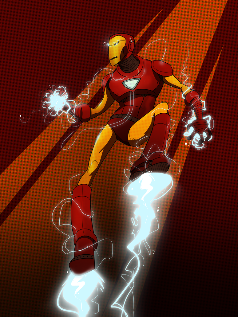Iron Man by JuneRevolver