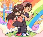 sweethearts and rainbows