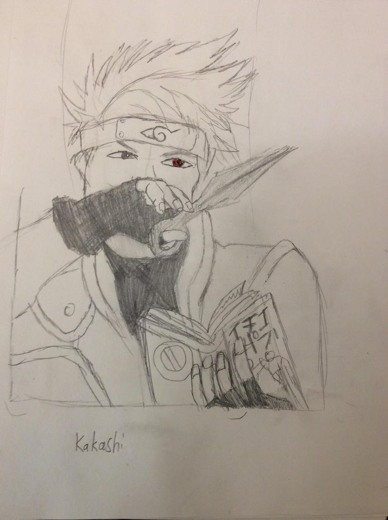 Kakashi Sensei (Naruto) by Wolfgirl1393