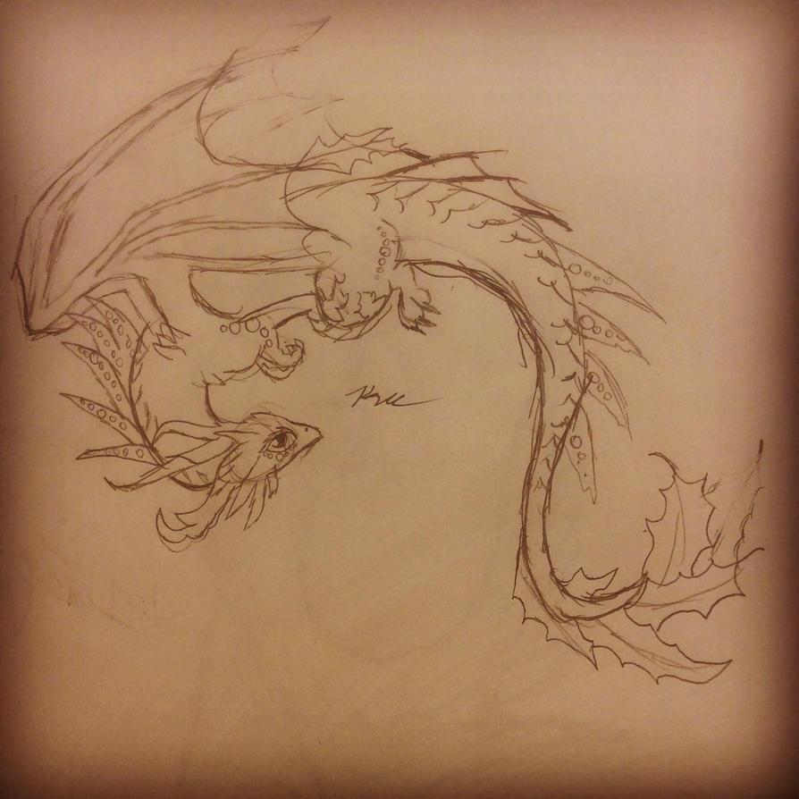 Dragon by Wolfgirl1393