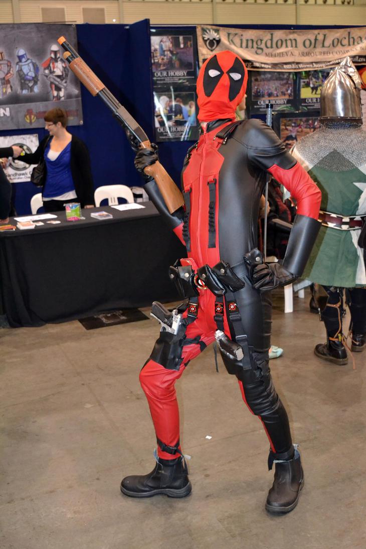 Deadpool Cosplay at 2015 Sydney Supanova by rbompro1