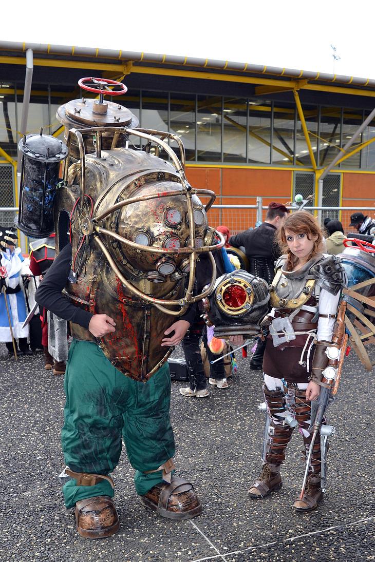 Bioshock Cosplay at 2015 Sydney Supanova by rbompro1