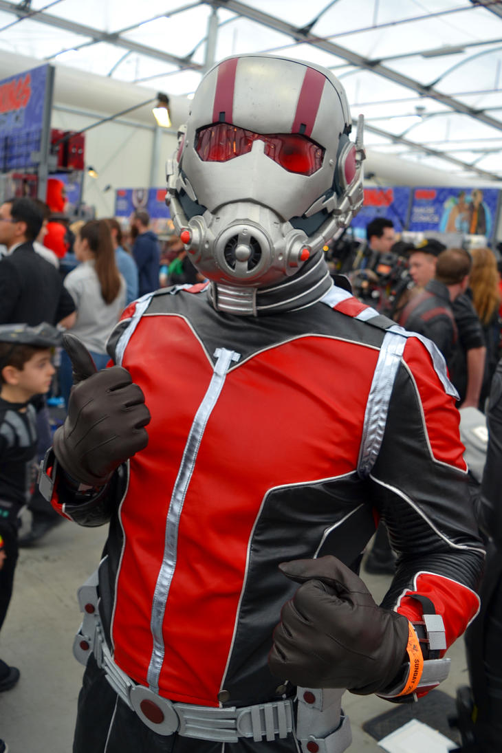 Antman Cosplay at 2015 Sydney Ozcomiccon by rbompro1