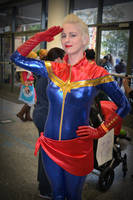 Captain Marvel Cosplay at 2016 Sydney Supanova by rbompro1