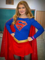 Supergirl Cosplay 2 at 2016 Sydney Supanova by rbompro1