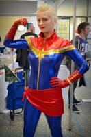 Captain Marvel Cosplay 2 at 2016 Sydney Supanova by rbompro1