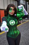 Green Lantern Cosplay at 2017 Sydney Supanova