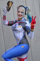 Harley Quinn Cosplay at 2017 Sydney Supanova by rbompro1