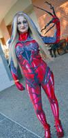 Spider Gwenom Cosplay at 2018 Sydney Supanova by rbompro1